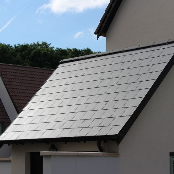 slate roofing on a home