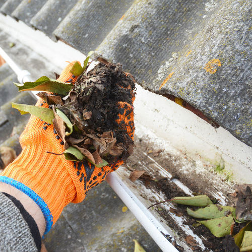 Gutters Need to be Cleaned Regularly.