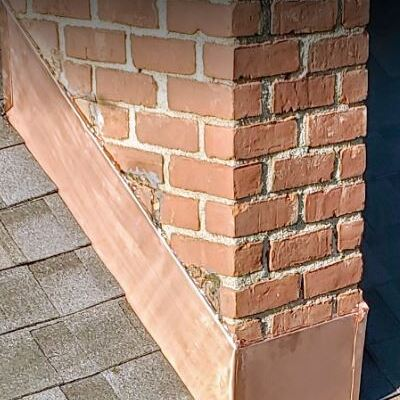 A Chimney With Flashing