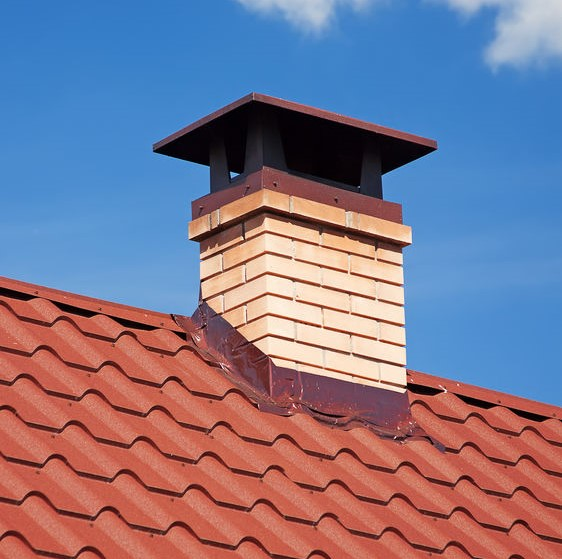 roof flashing repair around chimney